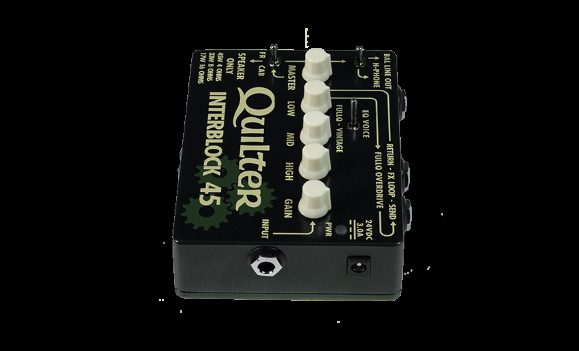 quilter interblock45 lightweight guitar amp rh lightweightguitaramp com