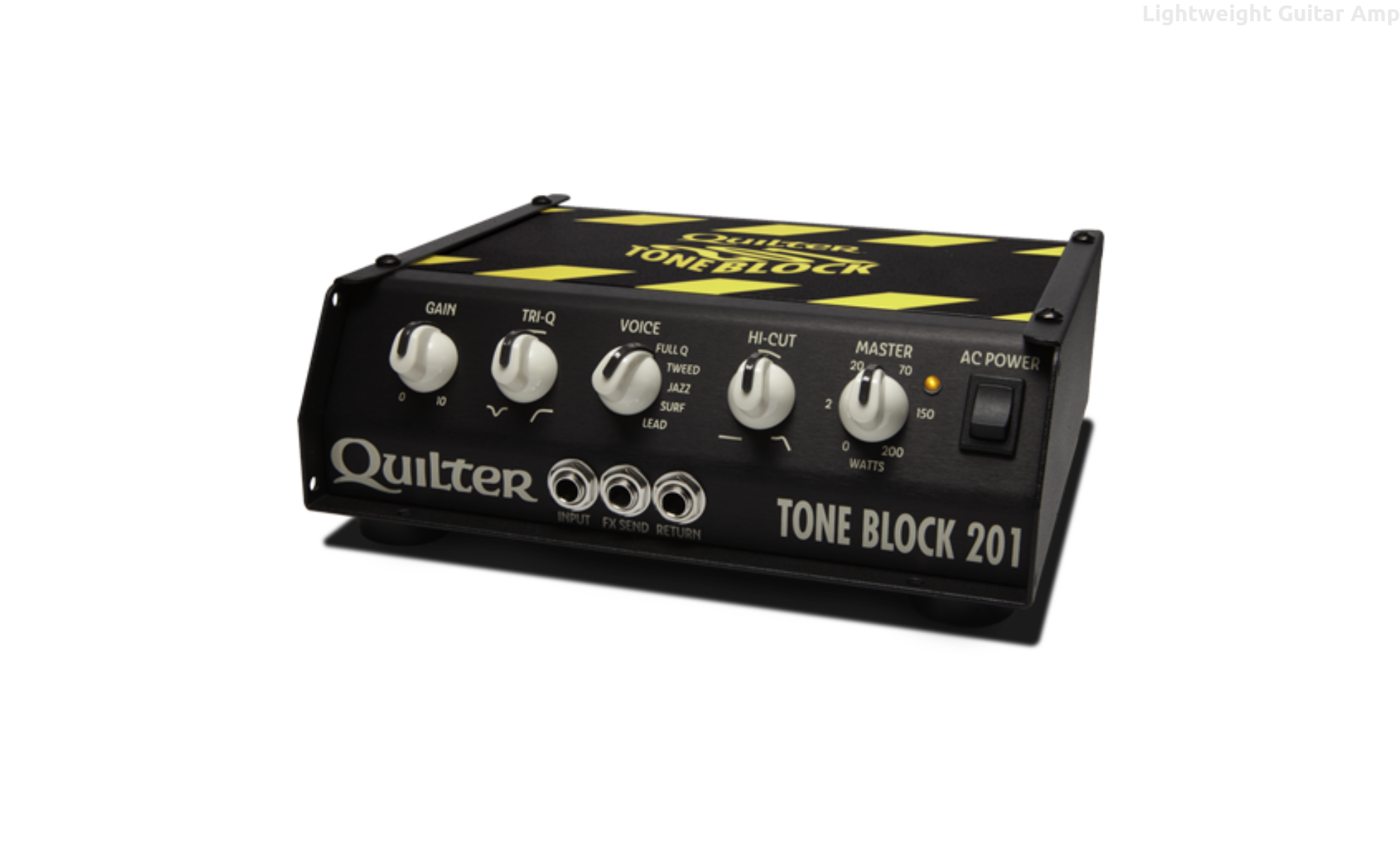 2ae70def46 Quilter Tone Block 201 with Deluxe Carry Case - Lightweight Guitar amp